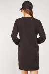 Gathered Bodice Jumper Dress