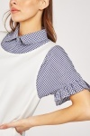 2-In-1 Gingham Shirt Dress