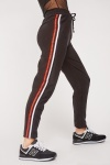 Striped Panel Side Joggers