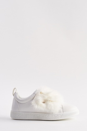 Fur Front Trainers