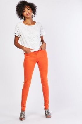 Soft Touch Skinny Fit Jeans