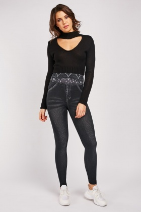Super Stretchy High Waist Jeggings