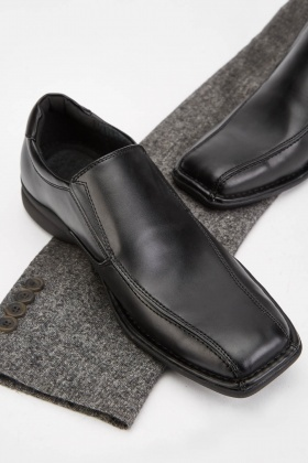Slip Men's Leather Shoes