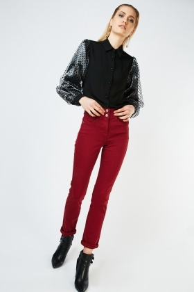 Waist Enhancer Skinny Trousers £5.00