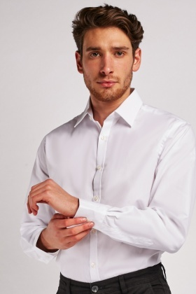 Tailored Fit White Shirt