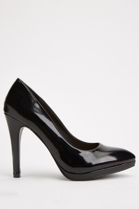 High Heel PVC Pumps
