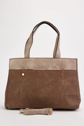 Two-Tone Contrast Bag