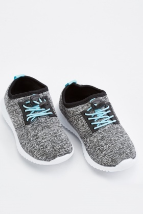 Kids Speckled Neoprene Trainers