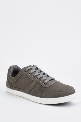 Mens Dark Grey Trainers