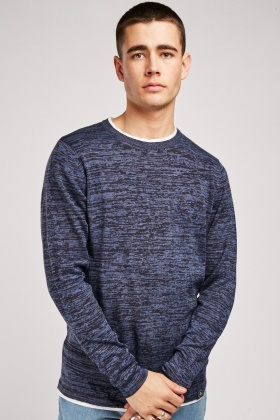 T-Shirt Trim Jersey Knit Pullover