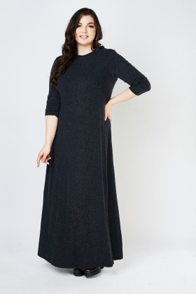 Long Sleeve Jersey Knit Dress
