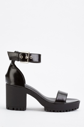 Ankle Strap Chunky Sandals