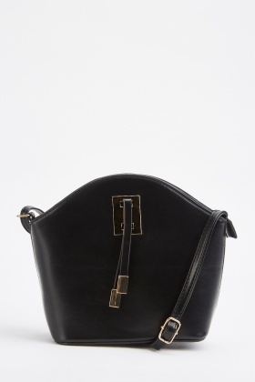 Front Detail Cross-Body Bag