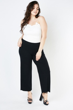 Super Stretchy Straight Fit Trousers