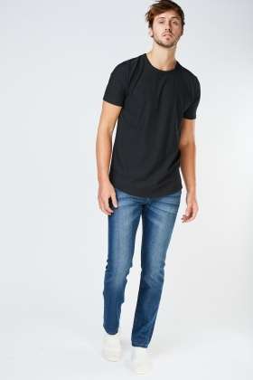 Straight Relaxed Fit Jeans