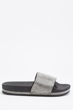 Encrusted Platform Sliders