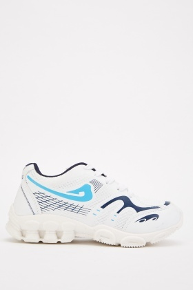 Textured Pattern Chunky Trainers