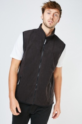Zip Up Poly-Fleece Gilet