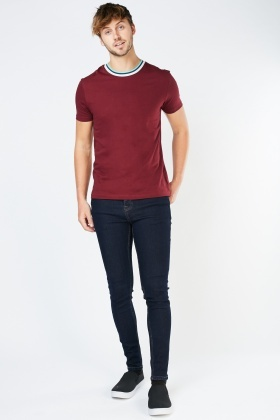 Indigo Skinny Fitted Jeans