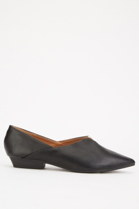 Slip On Pointy Flat Shoes