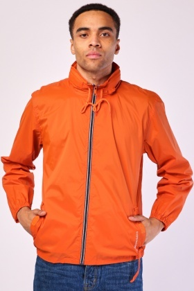 Hooded Rain Mens Jacket