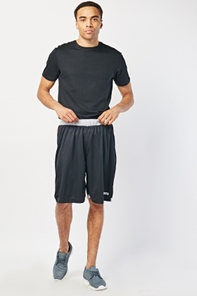 Elasticated Active Sports Shorts