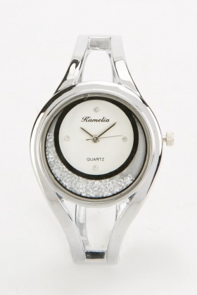 Gem Interior Bangle Watch