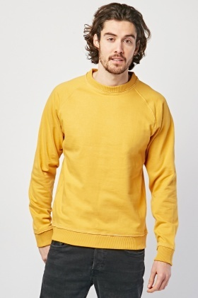Long Raglan Sleeve Sweatshirt
