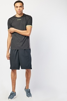 Active Sports Black Shorts