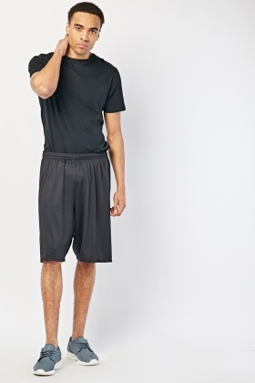 Black Active Sports Shorts