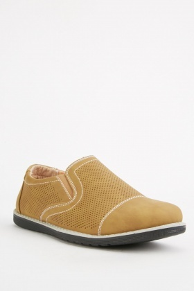 Slip On Perforated Shoes