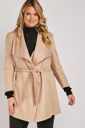 Waterfall Belted Jacket