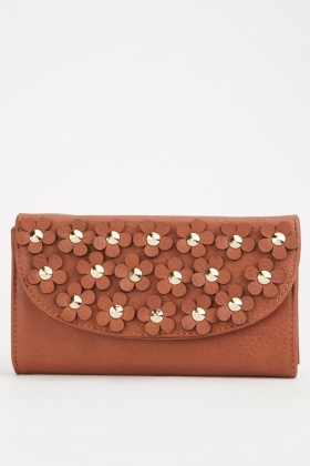 3D Flower Embellished Purse $6.40