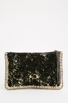 Sequin Embellished Clutch Bag $6.40