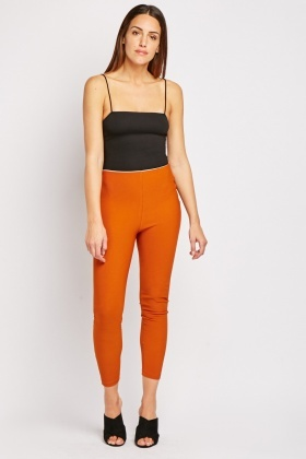 Ribbed High Waisted Leggings
