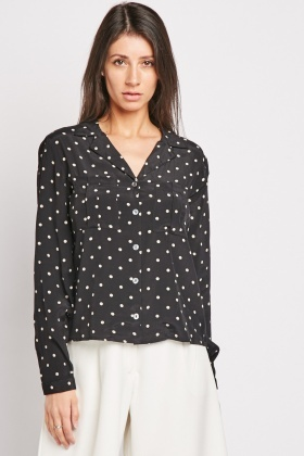 Polka Dot Lightweight Shirt