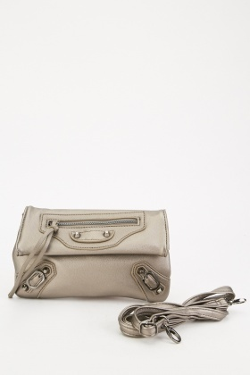 Flap Over Metallic Bag