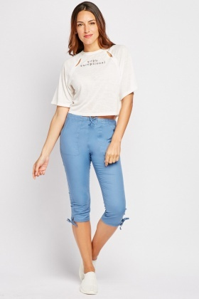 Crop Lightweight Trousers