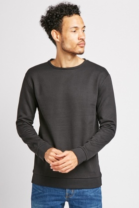 Long Sleeve Basic Sweatshirt