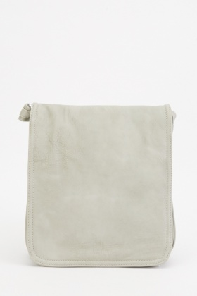 Textured Foldable Cross-body Bag