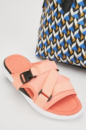 Plastic Buckle Clip Sandals