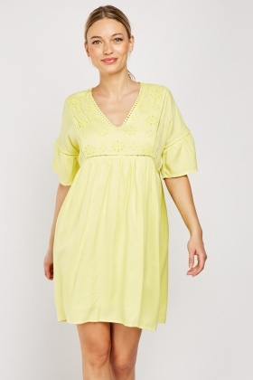 Anglaise Broderie Tunic Dress
