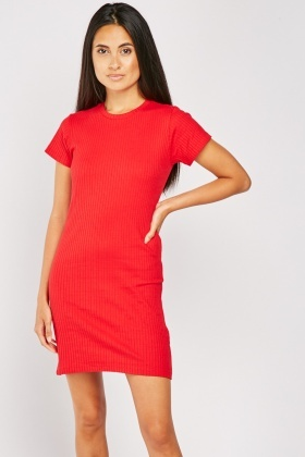Pack Of 2 Ribbed Dresses