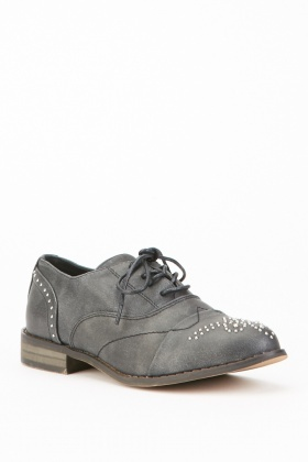 Encrusted Brogue Shoes