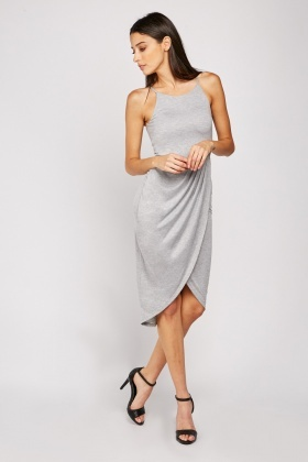 Plain Jersey Tulip Dress