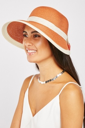 Bow Back Summer Hat