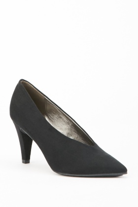 Cone Heel Court Shoes