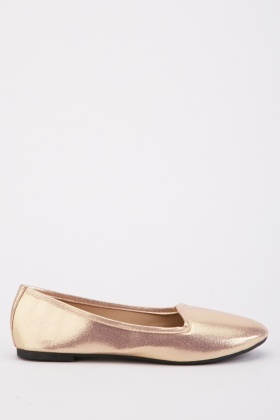 Plain Flat Loafers
