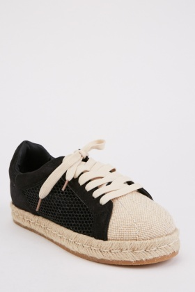 Espadrille Perforated Shoes