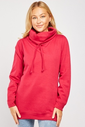 Drawstring Neck Jumper